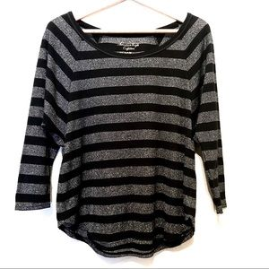 American Eagle Outfitters Women's Striped Shirt